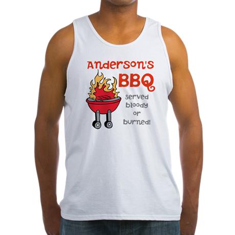 Personalized BBQ Men's Tank Top