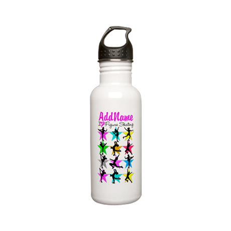 ICE SKATING STAR Stainless Water Bottle 0.6L