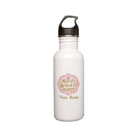 Personalized World's Greatest Nurse Stainless Wate