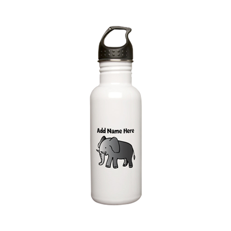 Personalized Elephant Stainless Water Bottle 0.6L