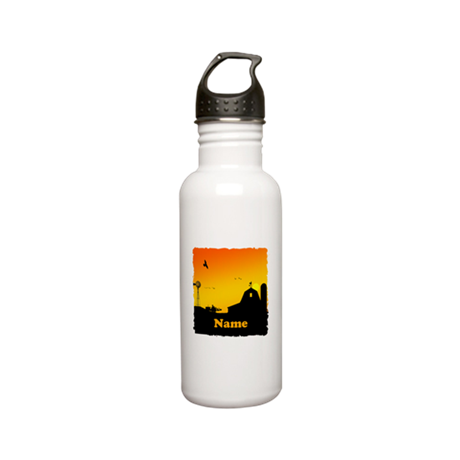 Sunrise at the Farm Stainless Water Bottle 0.6L