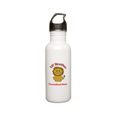 Little Brother Lion Stainless Water Bottle 0.6L