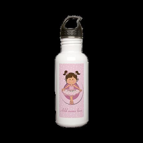 Personalized Ballerina Ballet Stainless Water Bott