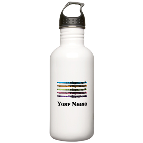 Personalized Flute Music Stainless Water Bottle 1.