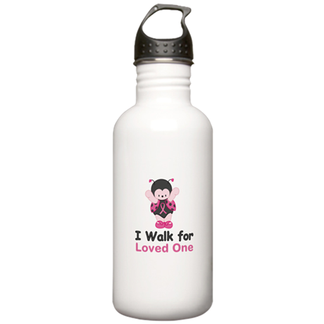 Walk For Ladybug Stainless Water Bottle 1.0L