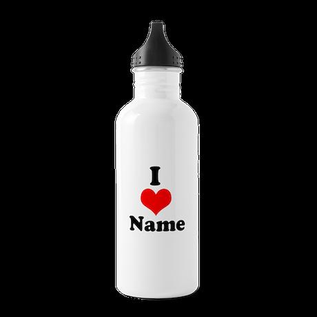 I heart Stainless Water Bottle 1.0L