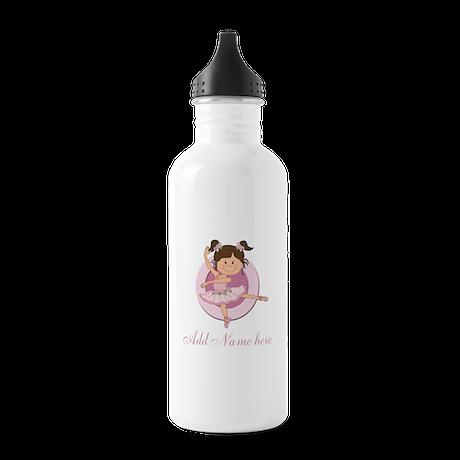 Cute Ballerina Ballet Gifts Stainless Water Bottle