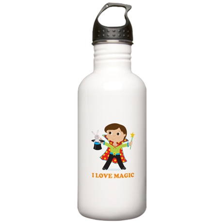Boy Magician Stainless Water Bottle 1.0L