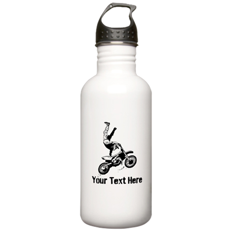 Motocross Stainless Water Bottle 1.0L