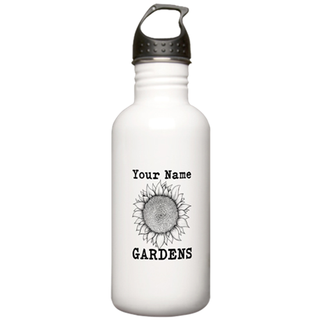 Custom Garden Stainless Water Bottle 1.0L