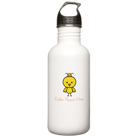 Personalized Baby Chick Stainless Water Bottle 1.0