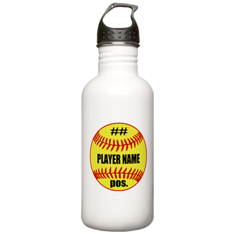 NAME NUMBER POSITION PERSONALIZED SOFTBALL Stainle