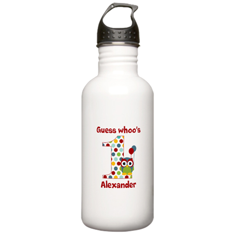 Custom guess whos 1 boy Stainless Water Bottle 1.0