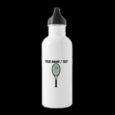 Custom Tennis Racket Water Bottle