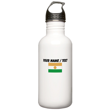 Custom Niger Flag Water Bottle