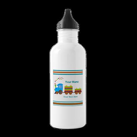 Custom Kids Train Stainless Water Bottle 1.0L