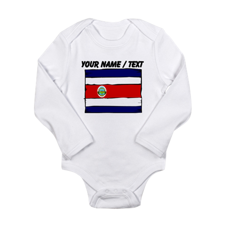 Custom Costa Rica Flag Body Suit