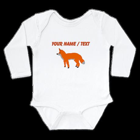 Custom Orange Fox Pup Body Suit