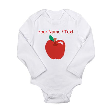 Custom Apple Cartoon Body Suit