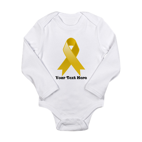 Personalize Childhood Cancer Body Suit