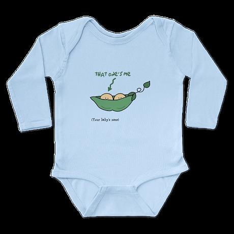 Long Sleeve Infant Bodysuit Customizable (L)