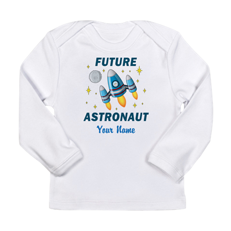 Future Astronaut - Personalized Long Sleeve T-Shir