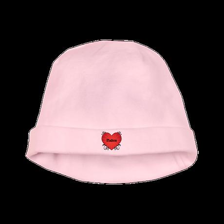 Custom Name Tattoo Heart baby hat