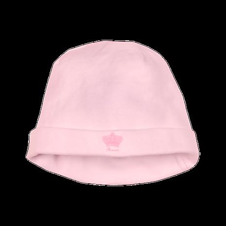 Pink Crown Princess baby hat