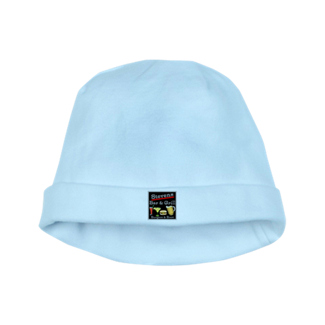 Personalized Bar and Grill baby hat