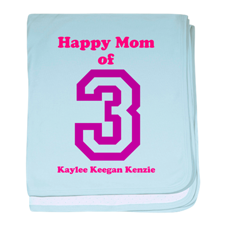 Personalized Mother baby blanket