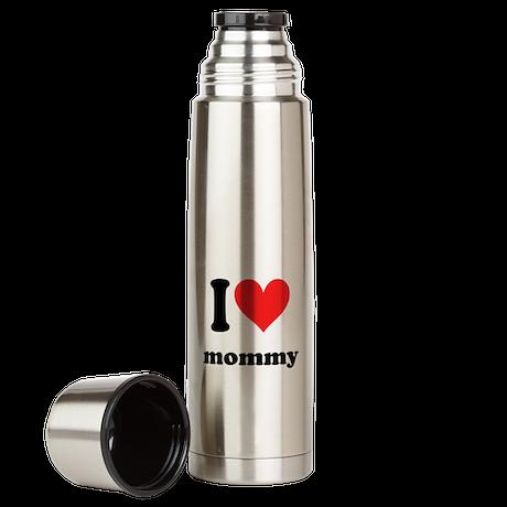 I Heart Mommy Large Thermos Bottle