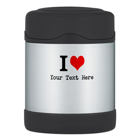 I Heart Thermos Food Jar
