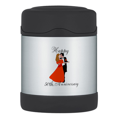 Custom Anniversary Thermos Food Jar