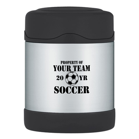Personalized Property of Your Team Soccer Thermos®