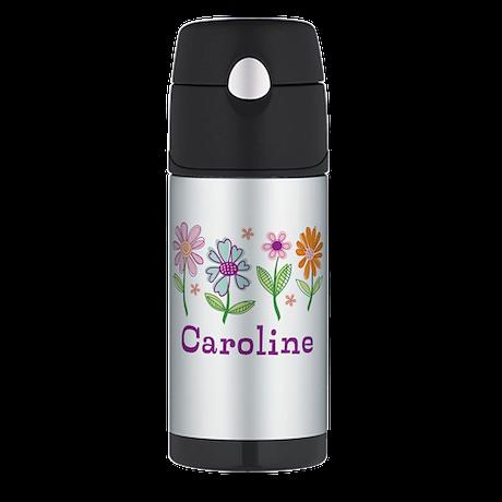 Daisy Garden Thermos Bottle (12oz)