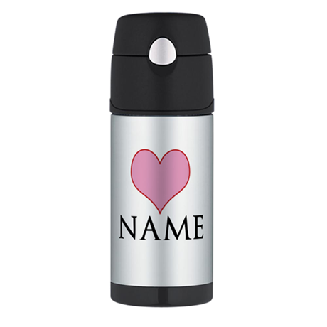 ADD YOUR NAME Thermos Bottle (12oz)