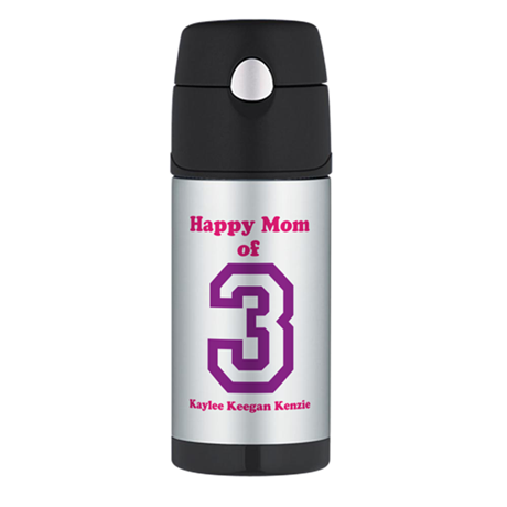 Personalized Mother Thermos Bottle (12oz)