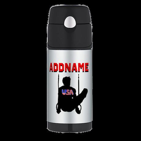 AMERICAN GYMNAST Thermos Bottle (12oz)