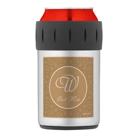 Bridal Blush - Best Man Thermos Can Cooler