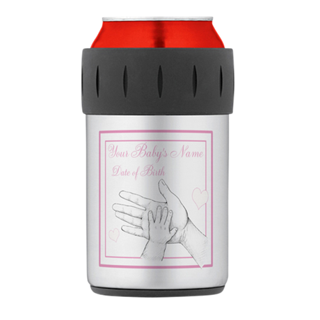 Custom Baby Girl Thermos® Can Cooler