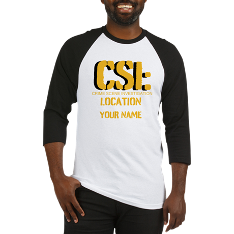 Customizable CSI Baseball Jersey