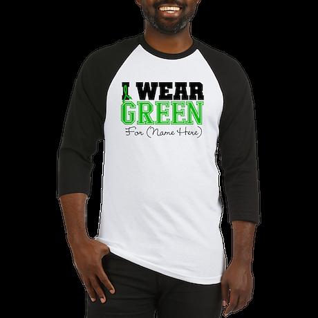 Personalize I Wear Green Baseball Jersey