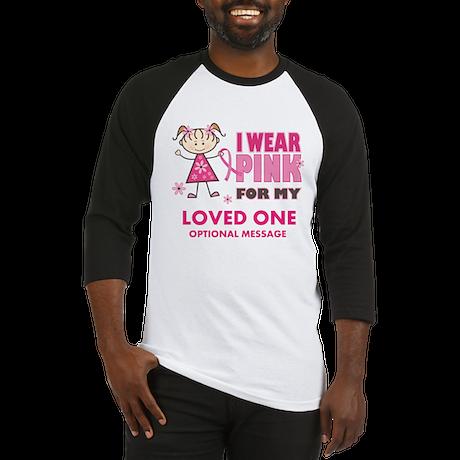Custom Wear Pink Baseball Jersey