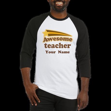 Personalized Teacher Baseball Jersey