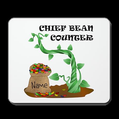 Chief Bean Counter Mousepad