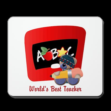 Teacher TeddyBear Mousepad