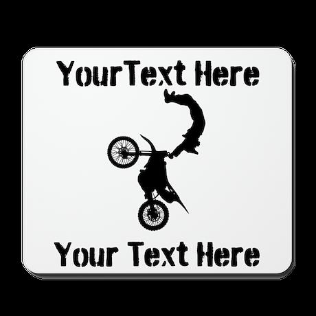 Eat Sleep Jump - Custom Text Mousepad