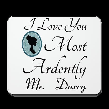 Personalized Jane Austen Quote Mousepad