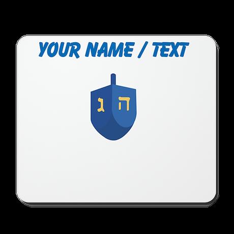 Custom Blue Dradle Mousepad