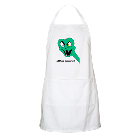 Snake with Custom Text Apron